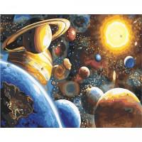 Комплект за рисуване по номера. Планети– GX 22389