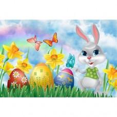 Картина по номера - Великденски заек ZE 3066