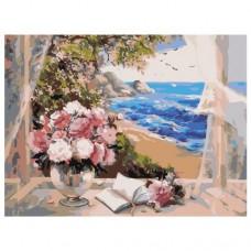 Картина по номера - Изглед към морето ZE-3086