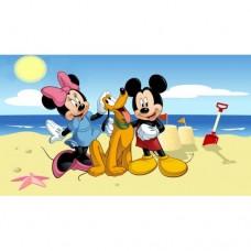 Картина по номера - Мики на плажа ZE 3021