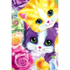 Картина по номера - Цветни котенца ZE 3077