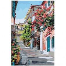 Картина по номера -  Градски пейзаж  ZG-0011