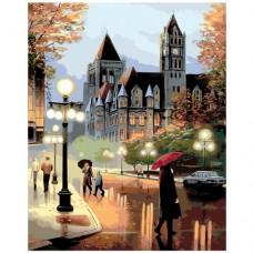 Картина по номера -  Градски пейзаж ZG-0039