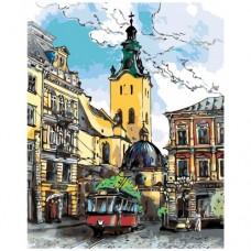 Картина по номера -  Градски пейзаж ZG-0050
