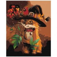 Картина по номера -  Котка  ZG-0084