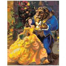 Картина по номера -  Красавицата и звярът ZG-0111