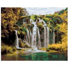 Картина по номера - Водопад  ZG-0202