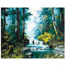 Картина по номера - Горска река ZG-0203