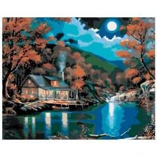 Картина по номера - Къща до реката ZG-0156