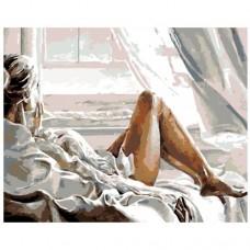 Картина по номера - Момиче на прозореца ZG-0169