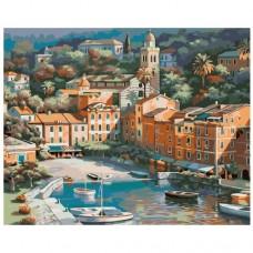 Картина по номера - Морски град ZG-0198
