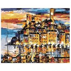 Картина по номера - Морски град ZG-0213