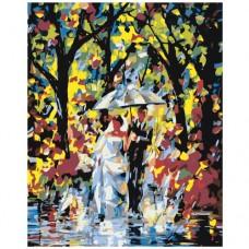 Картина по номера - Разходете се под дъжда ZG-0089