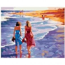Картина по номера - Разходка край морето ZG-0116