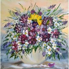 Картина по номера - Диви цветя  ZP-041