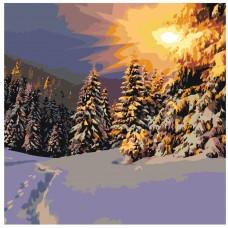 Картина по номера - Зимна гора ZP-022