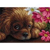 GI 304120 Диамантен гоблен - Куче
