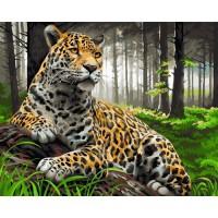 GI 304144 Диамантен гоблен - Тигър в гората