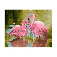 GI 304152 Диамантен гоблен - Фламинго