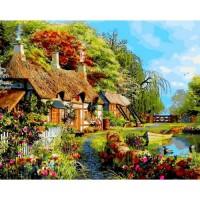 PZ 304105 диамантен гоблен - Селската къща