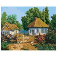 PZ 304136 Диамантен гоблен - Село