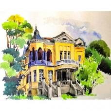 Картина по номера - Стара къща ZG-0250
