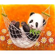 Панда в хамак - Картина по номера CX 3595