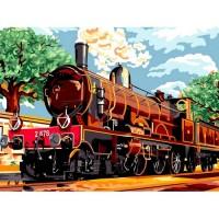 Влак - Картина по номера - GX 6113