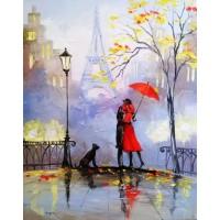 Романтична среща - Картина по номера - GX 5799