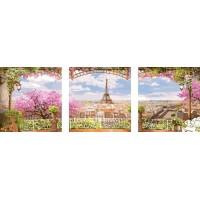 Париж - Триптих - Картина по номера - PX 5095