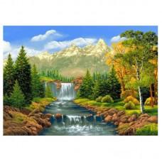 Горска река - Картина по номера - EX 7292