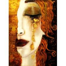 Златни сълзи- Картина по номера - GX 40518