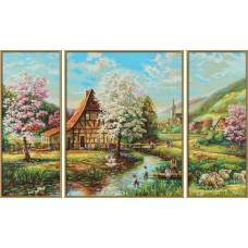 TRP 0006 Триптих- лято на село